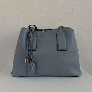 NEW Marc Jacobs Light Blue Editor Shoulder Bag